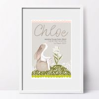 Personalised Name Meaning LITTLE HARE Print